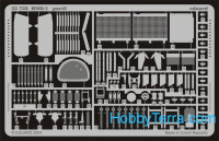 Photo-etched set 1/35 BMD-1, for Eastern Express kit