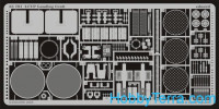 Photo-etched set 1/35 LCVP Landing Craft, for Italeri kit