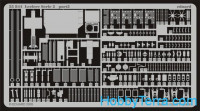 Photo-etched set 1/35 Leclerc Serie 2, for Tamiya35279 kit