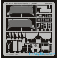 Eduard  35844 Photo-etched set 1/35 Leclerc Serie 2, for Tamiya35279 kit