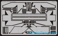 Photo-etched set 1/35 M-3 Grant fenders, for Academy kit