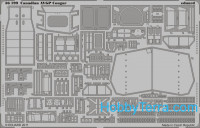 Photo-etched set 1/35 Canadian AVGP Cougar, for Trumpeter kit