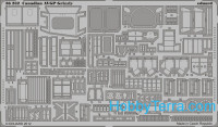 Photo-etched set 1/35 Canadian AVGP Grizzly, for Trumpeter kit