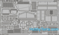 Photo-etched set 1/35 IDF Merkava Mk.IIID, for Meng kit