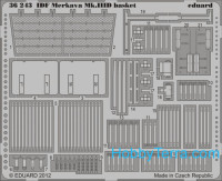 Photo-etched set 1/35 IDF Merkava Mk.IIID basket, for Meng kit