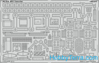 Photo-etched set 1/35 BT-7 interior, for Tamiya kit