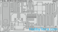Photo-etched set 1/35 ATF Dingo 2 GE A PatSi interior, for Revell kit