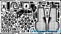 Photo-etched set 1/48 BAC Lightning F-2/6, for Airfix kit