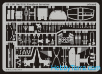Photoetched set 1/48 Su-25K Frogfoot interior