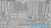 Photo-etched set 1/48 A-6 undercarriage, for KIN kit