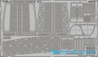 Photo-etched set for Do 17Z-2 exterior & bomb bay, for ICM kit
