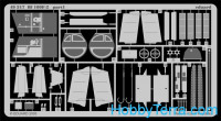 Eduard  49317 Photo-etched set 1/48 Bf 109F-2, for Hasegawa kit