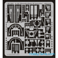 Photo-etched set 1/48 A-10 Thunderbolt II interior, for Hobby Boss kit