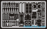 Photo-etched set 1/48 Bf 110C, for Eduard kit