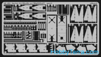 Photo-etched set 1/48 Airacobra Mk.I S.A., for Hasegawa kit