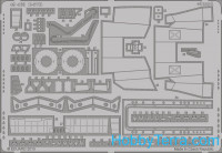 Photo-etched set 1/48 B-57B S.A., for Airfix kit