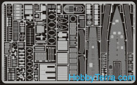 Photo-etched set 1/72 U-boat VIIC/41