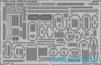 Photo-etched set 1/350 Yamato new tool, for Tamiya kit