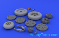 Brassin Wheels set 1/48 for MiG-21 fighter