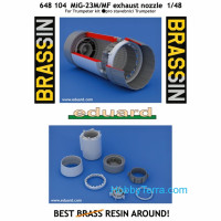 Brassin 1/48 MiG-23M/MF exhaust nozzle, for Trumpeter kit