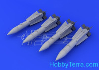 Brassin 1/48 AIM-54C Phoenix, for Eduard kit