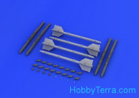 Brassin 1/48 R-13M / AA-2 Atoll-D, for Eduard kit