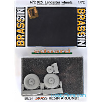 Brassin Wheels set 1/72 for Lancaster