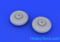 Brassin wheels set 1/72 for Beaufighter Mk.X