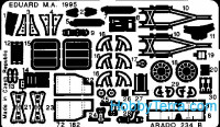 Photo-etched set 1/72 Ar-234 B2, for Dragon kit