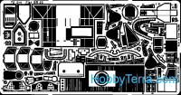 Photo-etched set 1/72 Fiat Br 20, for Italeri kit