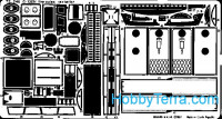 Photo-etched set 1/72 C-130H exterior, for AMT/ERTL /ESCI kit