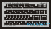 Photo-etched set 1/72 Gunsight German