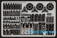 Photo-etched set 1/72 SM-79 Sparviero exterior, for Italeri kit