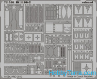 Photoetched set 1/72 Bf 110G-2