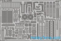 Photo-etched set 1/72 Su-27UB S.A, for Trumpeter kit