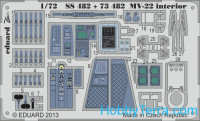 Photoetched set 1/72 MV-22 (self adhesive)