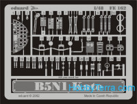 Photo-etched set 1/48 B5N1 Kate, for Hasegawa kit