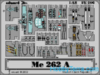 Photo-etched set 1/48 Me-262A, for Tamiya kit