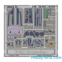 Photo-etched set 1/48 F-8J Crusader, for Hasegawa kit