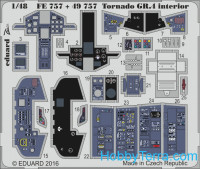 Photo-etched set 1/48 Tornado GR.4 interior, for Revell kit