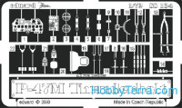 Photo-etched set 1/72 P-47M, for Revell kit