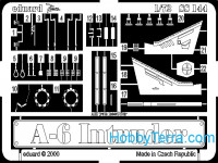 Photo-etched set 1/72 A-6 Intruder, for Italeri kit
