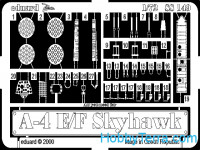 Photoetched set 1/72 A-4E/F Skyhawk