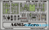 Photo-etched set 1/72 A6M5c Zero Color, for Hasegawa kit