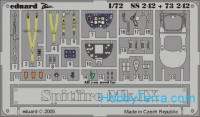 Photo-etched set 1/72 Spitfire Mk.IX, for Hasegawa kit