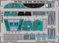 Photo-etched set 1/72 Mi-26 Halo Color, for Revell/Zvezda kit