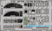 Photo-etched set 1/72 B-17G interior Color, for Revell kit