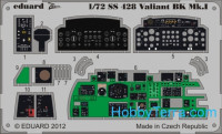 Photo-etched set 1/72 Valiant BK.MK.I Color, for Airfix kit