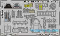 Photo-etched set 1/72 A-4B Color, for Airfix kit