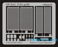 Photo-etched set 1/35 T-55 grill, for Tamiya kit